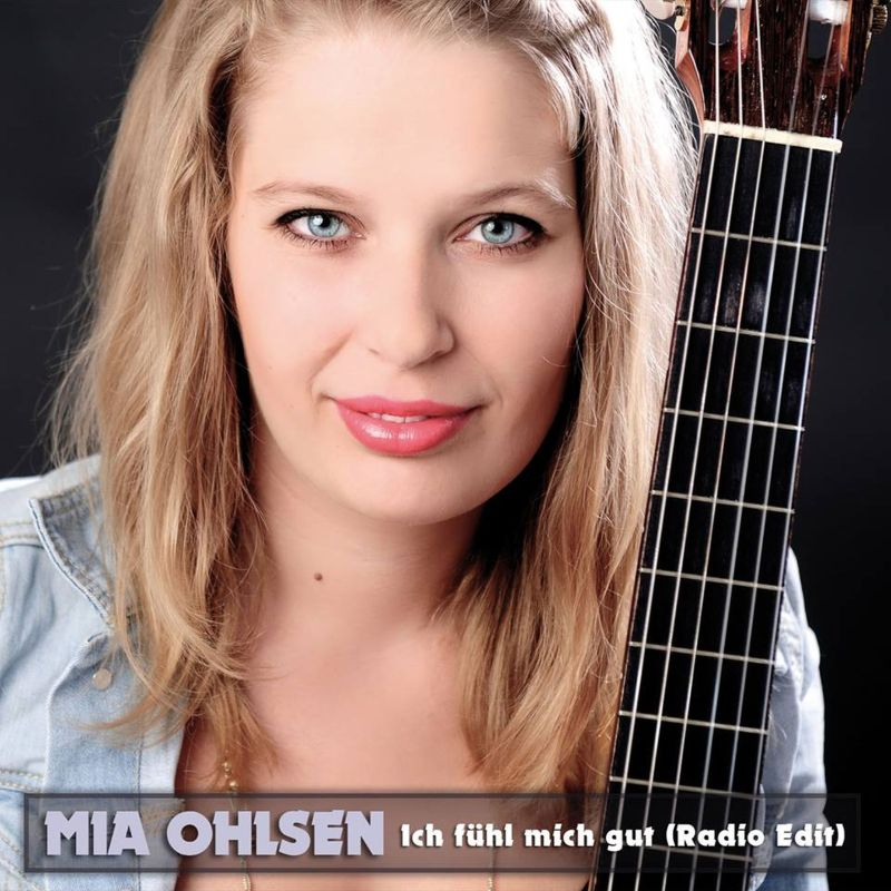 """Mia Ohlsen """"Ich fühl mich gut"""" - Hot Rotation in Belgien bei BRF 2"""