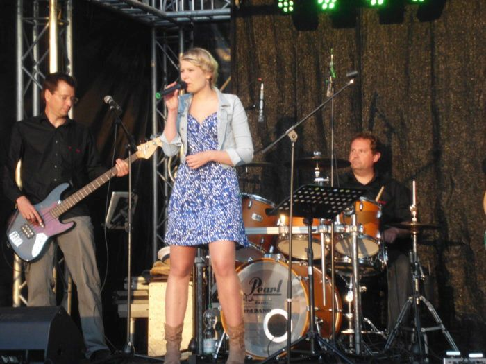 Mia Ohlsen Band auf dem größten Segelsportevent Europas