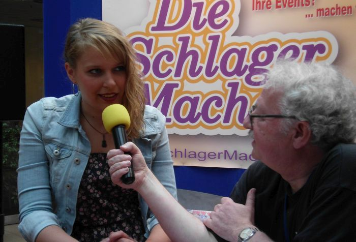 Mia Ohlsen im Interview mit Radio Delmenhorst / Radio Oldenburg (Foto copyright: Grobbin)