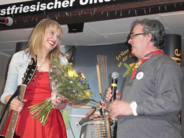 Mia Ohlsen beim Ossiabend 2015 (Foto copyright: MammaMia)